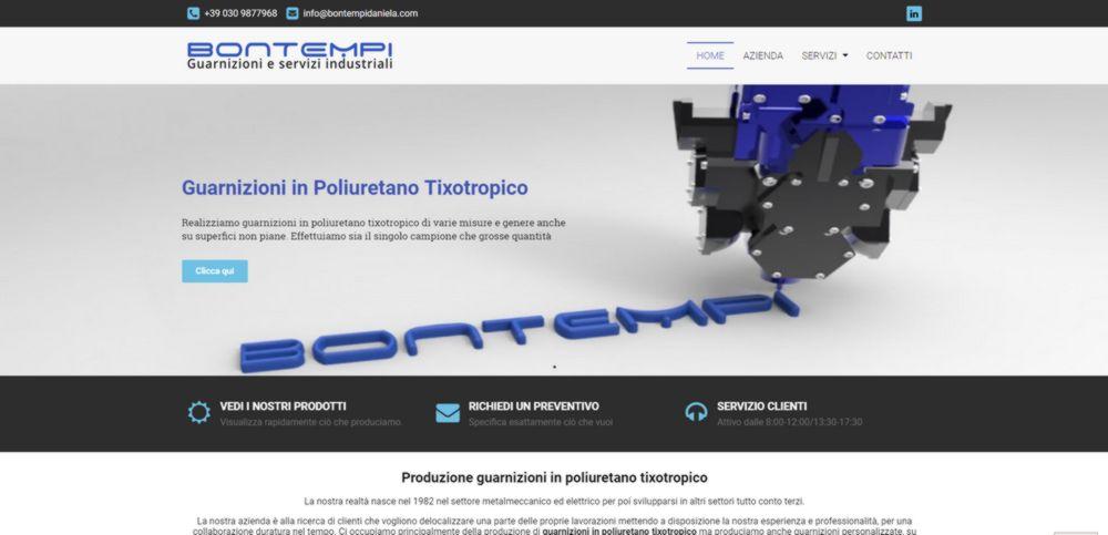 creazione sito web bontempi