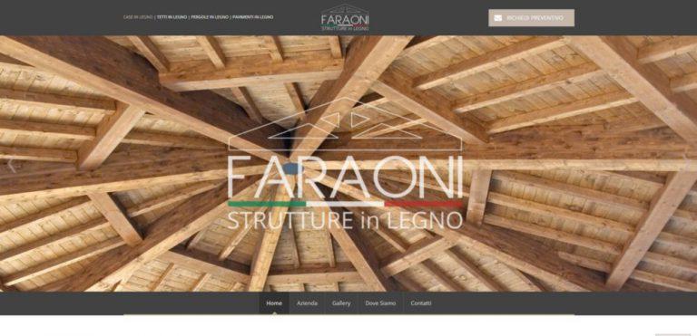 creazione sito web faraoni
