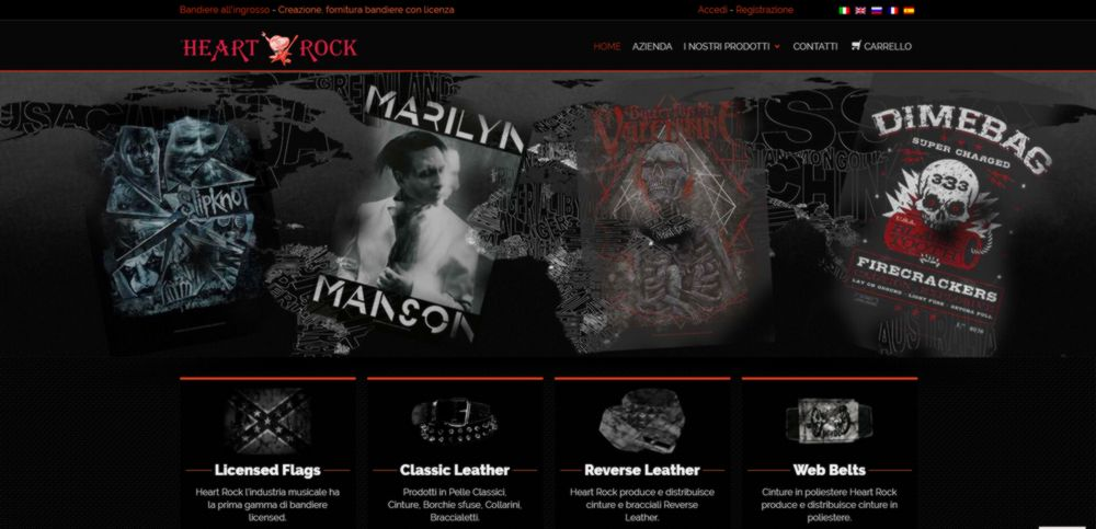 creazione sito web heartrock
