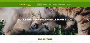 creazione sito web ideal zoo