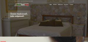 creazione sito web mobili d'arte