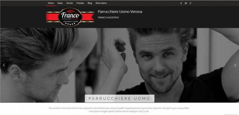 creazione sito web parrucchiere